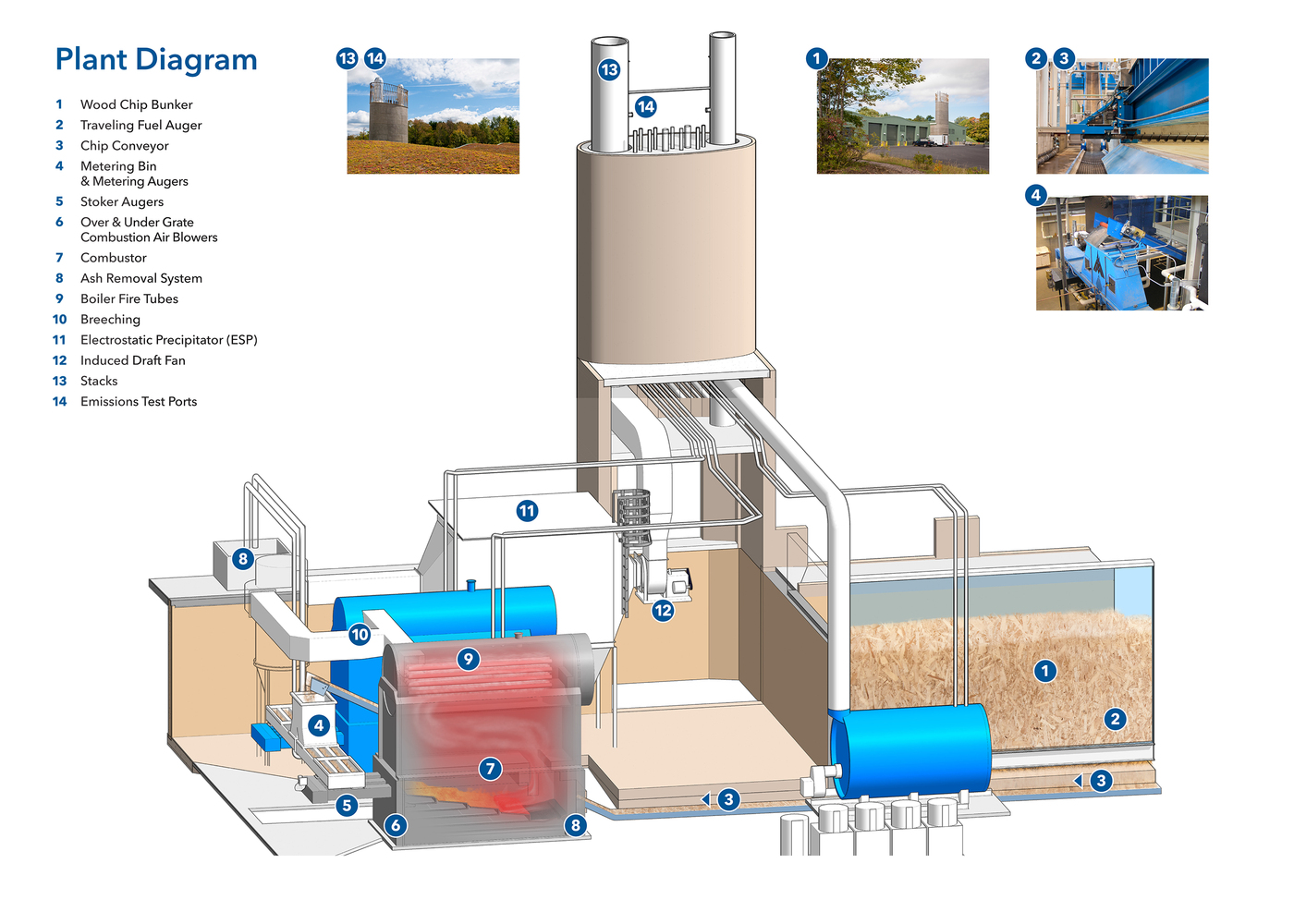 Biomass Power Station Diagram Wiring And Ebooks Plant Circuit Gallery Of Hotchkiss Centerbrook Architects Rh Archdaily Com Energy Schematic