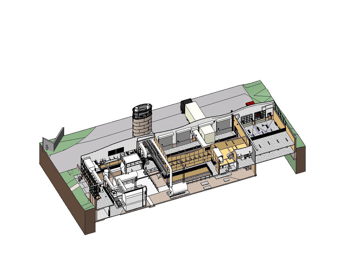 Gallery Of Hotchkiss Biomass Power Plant Centerbrook Architects Diagram Plantaxonometric Boiler Room