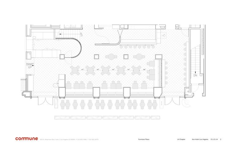 Ace Hotel Downtown LA Commune Design