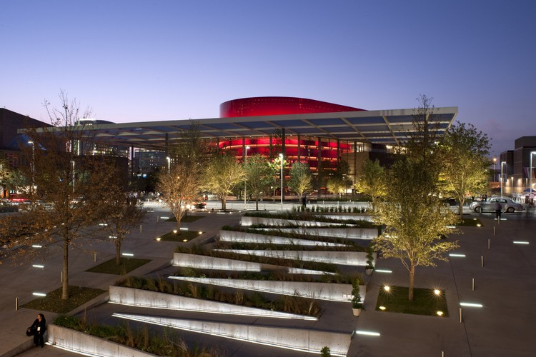 Winspear Opera House / Foster + Partners, Courtesy Of Foster + Partners