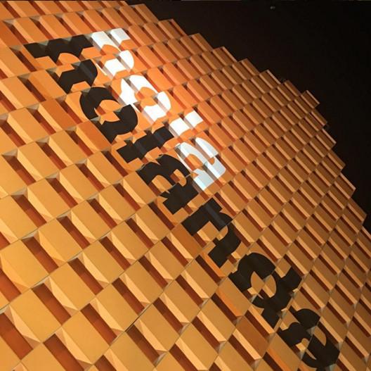 MVRDV projeta pavilhão dos Países Baixos na Feira Internacional do Livro de Bogotá, Pabellón de Holanda en FILBO 2016. Image © MVRDV [Instagram]
