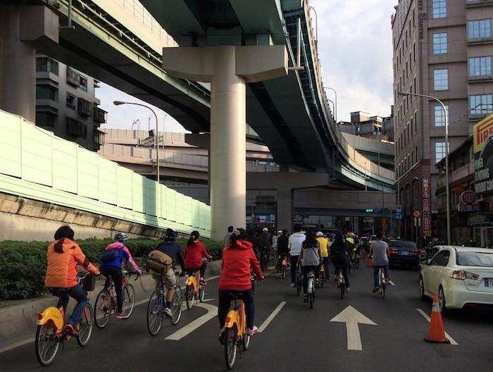 Taipei, cidade compartilhada, Cortesia de Transporte Ativo