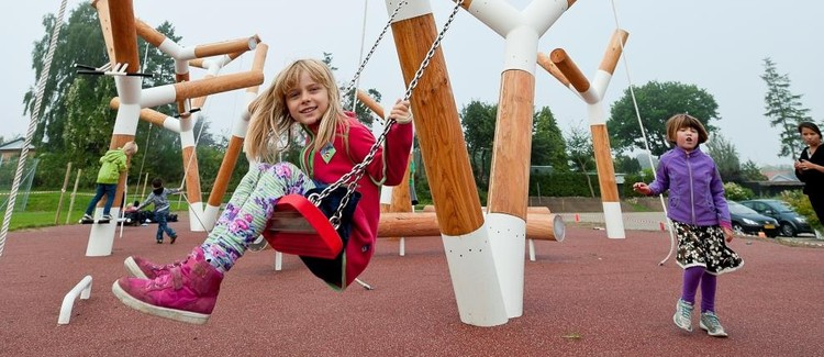Family Design Day: Playscapes, Image: The Pulse Park, Denmark, CEBRA. Photo by Mikkel Frost.