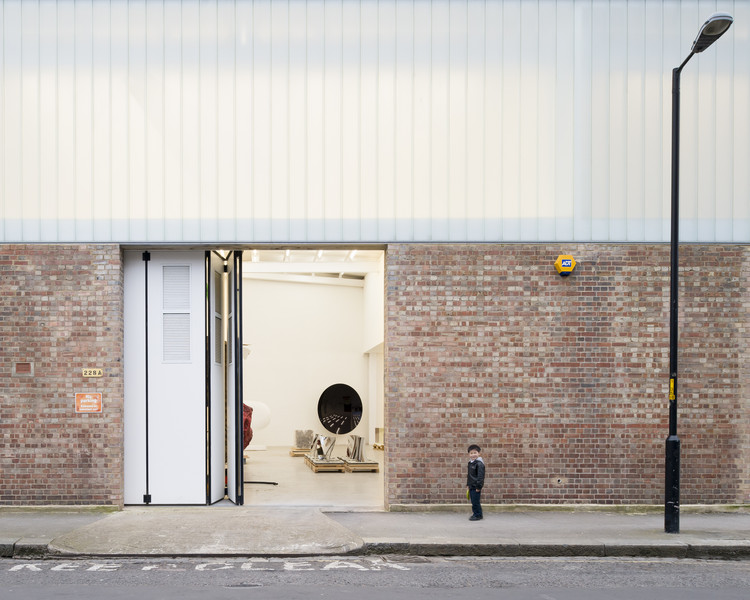 Estúdios Anish Kapoor II, III, IV, V, VI & VII  / Caseyfierro Architects, © Jim Stephenson
