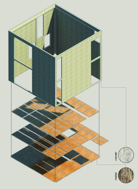 Casa cubo diez muller arquitectos archdaily colombia for Casas modernas tipo cubo