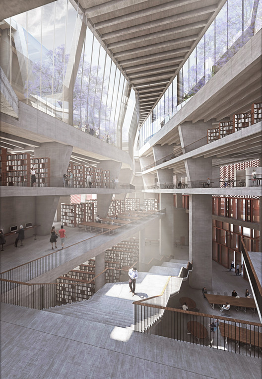 McCullough Mulvin Architects Designs University Extension in India, Courtesy of McCullough Mulvin Architects