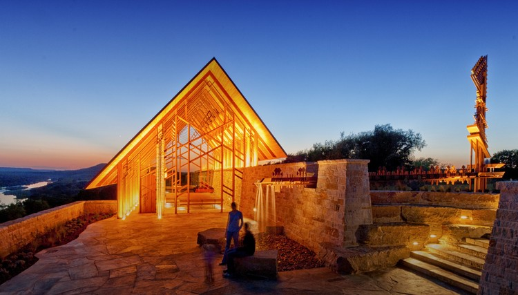 Chapel at Rio Roca Ranch / Maurice Jennings + Walter Jennings Architects, © Walter Jennings