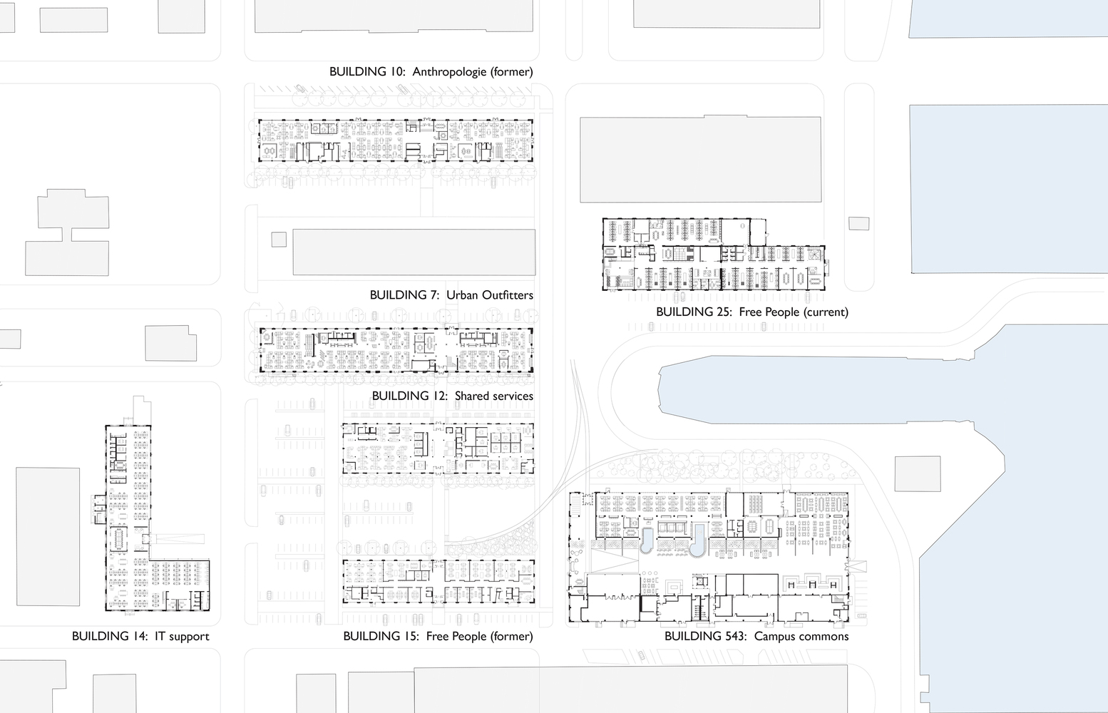 Gallery of Urban Outfitters Corporate Campus MSR Design 42 – Urban Outfitters Business Plan