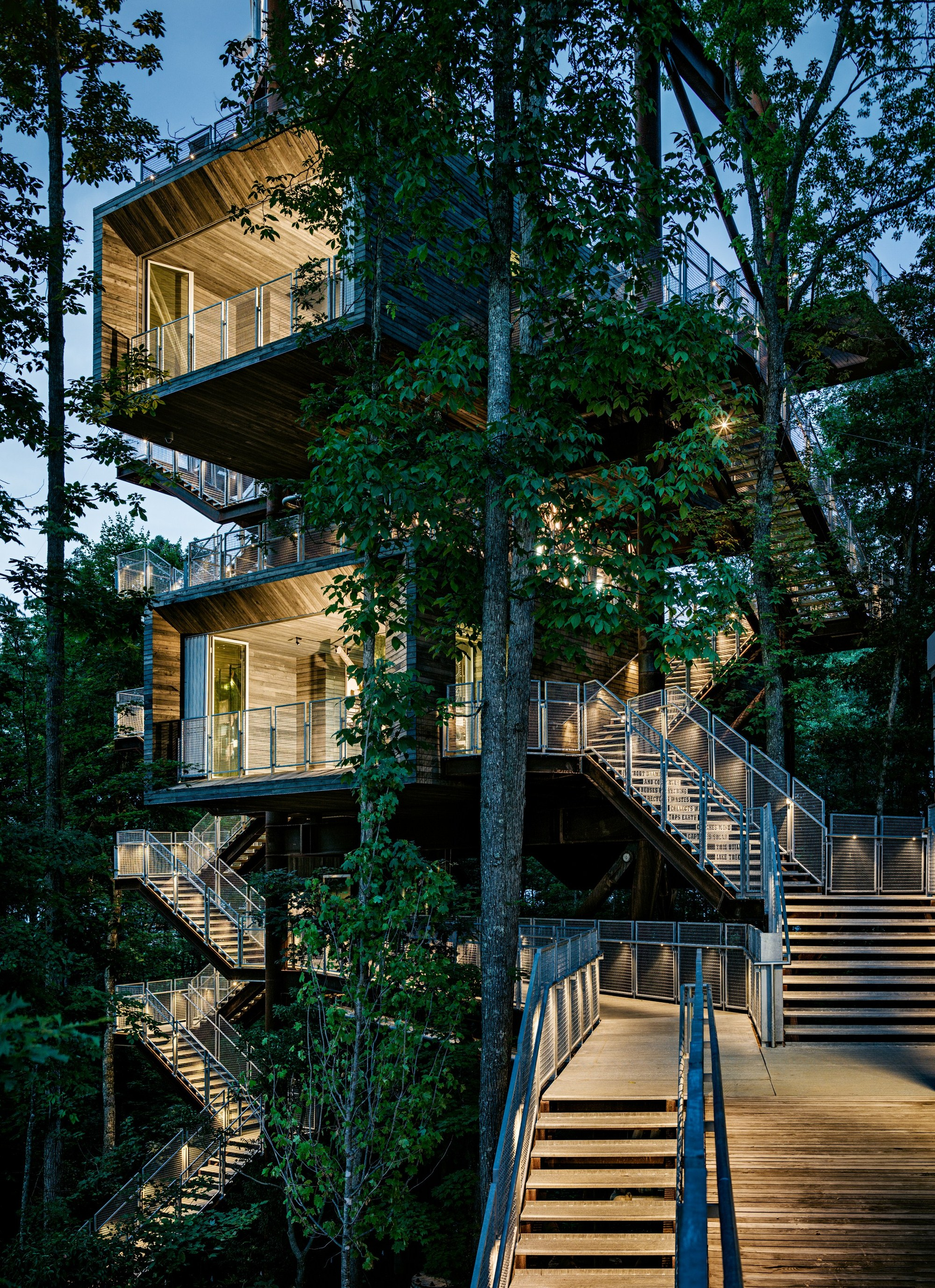 Treehouse the sustainability treehouse / mithun | archdaily