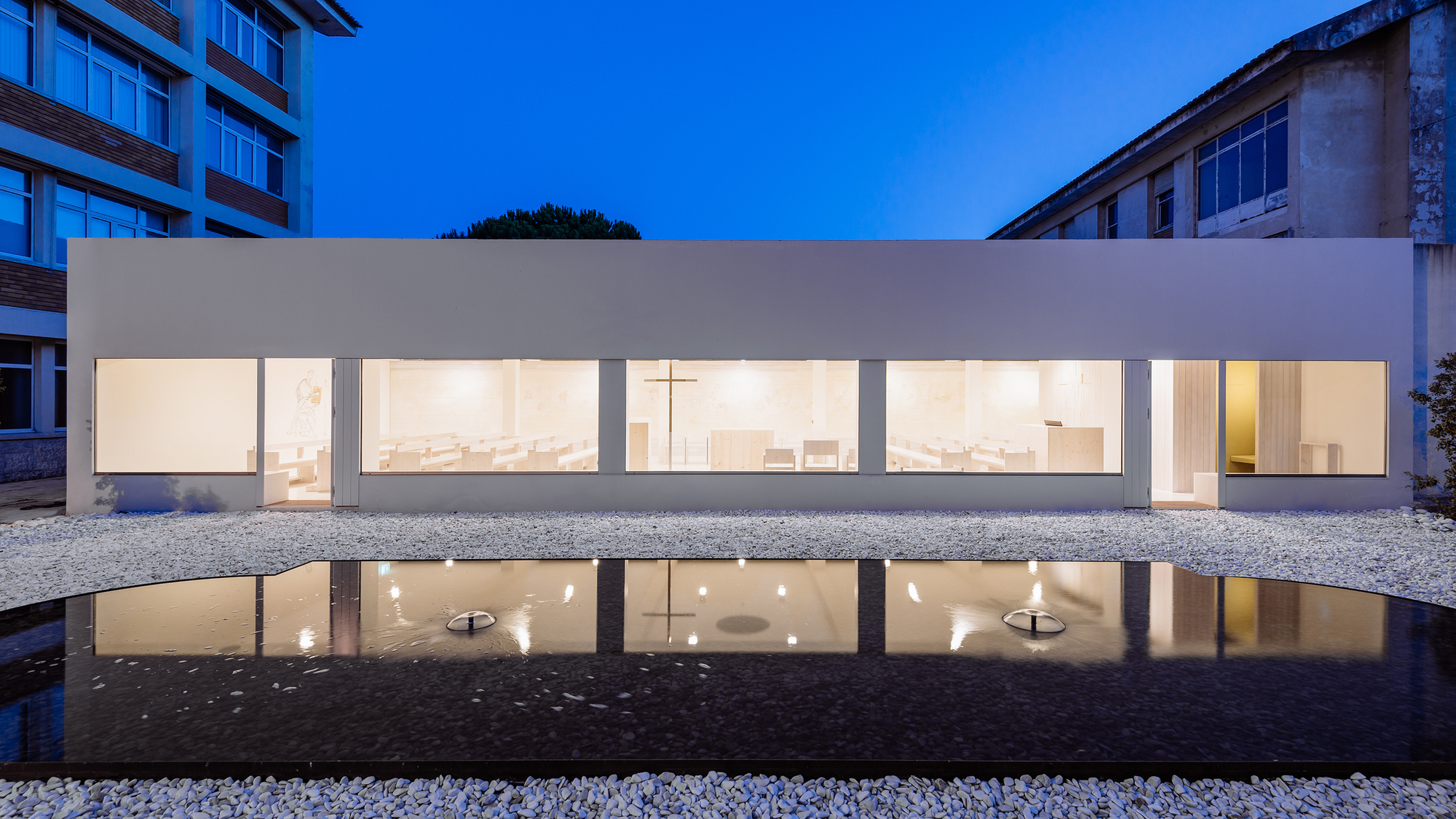 Jesus Mestre Chapel / Site Specific Arquitectura
