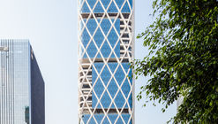 Shenzhen VC-PE Tower / Studio Georges Hung + Huazhu Architecture & Engineering Co. Ltd.
