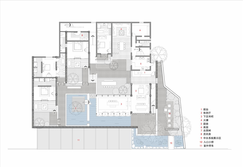 Gallery of Dali Munwood Lakeside Resort Hotel / Init