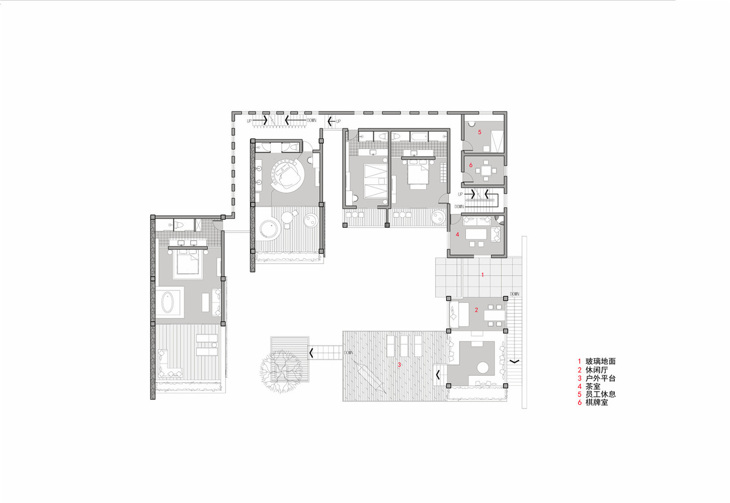 100 floor plan resort floor plan nalu b ainamalu for 100 square foot office layout
