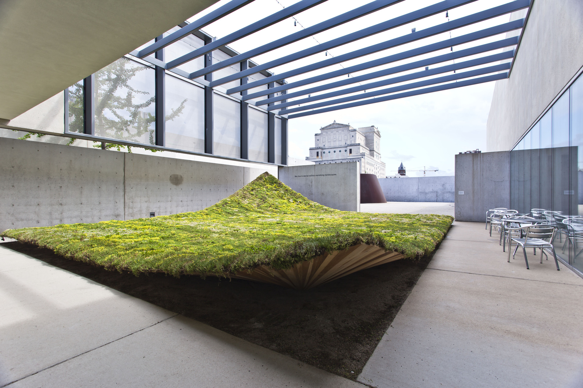 Green varnish nomad studio archdaily for Building design blog