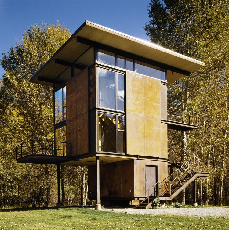 House Architects delta shelter / olson kundig | archdaily
