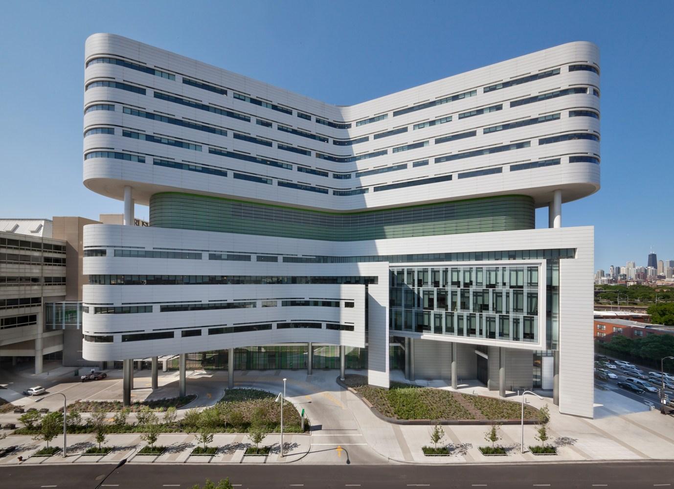 Gallery of New Hospital Tower Rush University Medical Center
