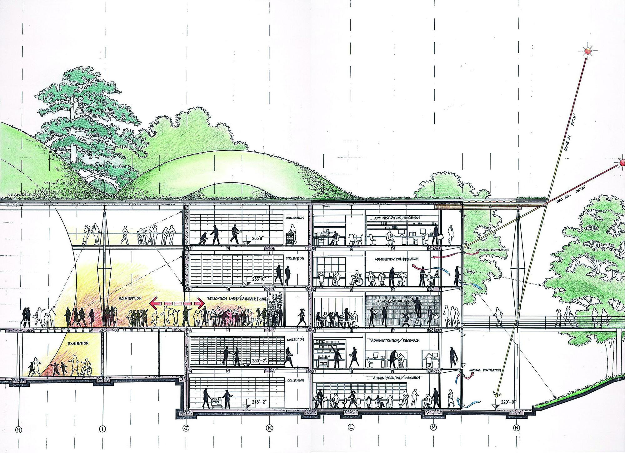 Gallery Of California Academy Of Sciences Renzo Piano