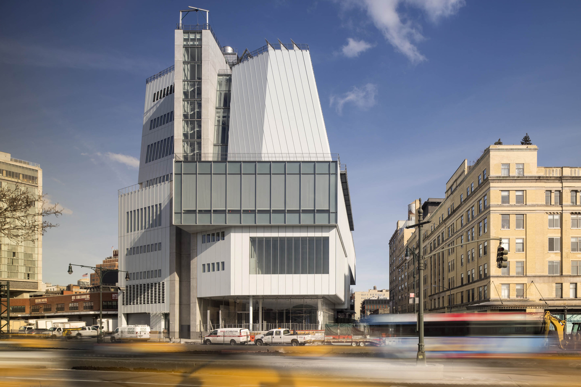 The Whitney Museum Of American Art At Gansevoort Renzo Piano Building Workshop Cooper Robertson