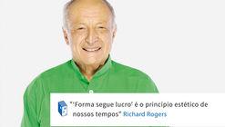 Frases: Richard Rogers e o lucro