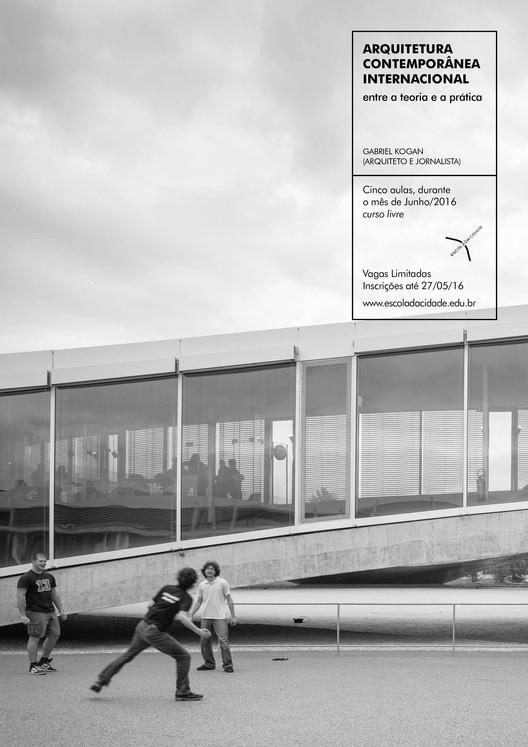 Escola da Cidade promove curso sobre arquitetura contemporânea internacional