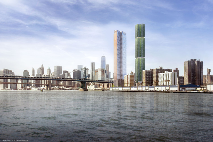 SHoP Unveils Design for New Skyscraper in Manhattan's Lower East Side, Courtesy of SHoP