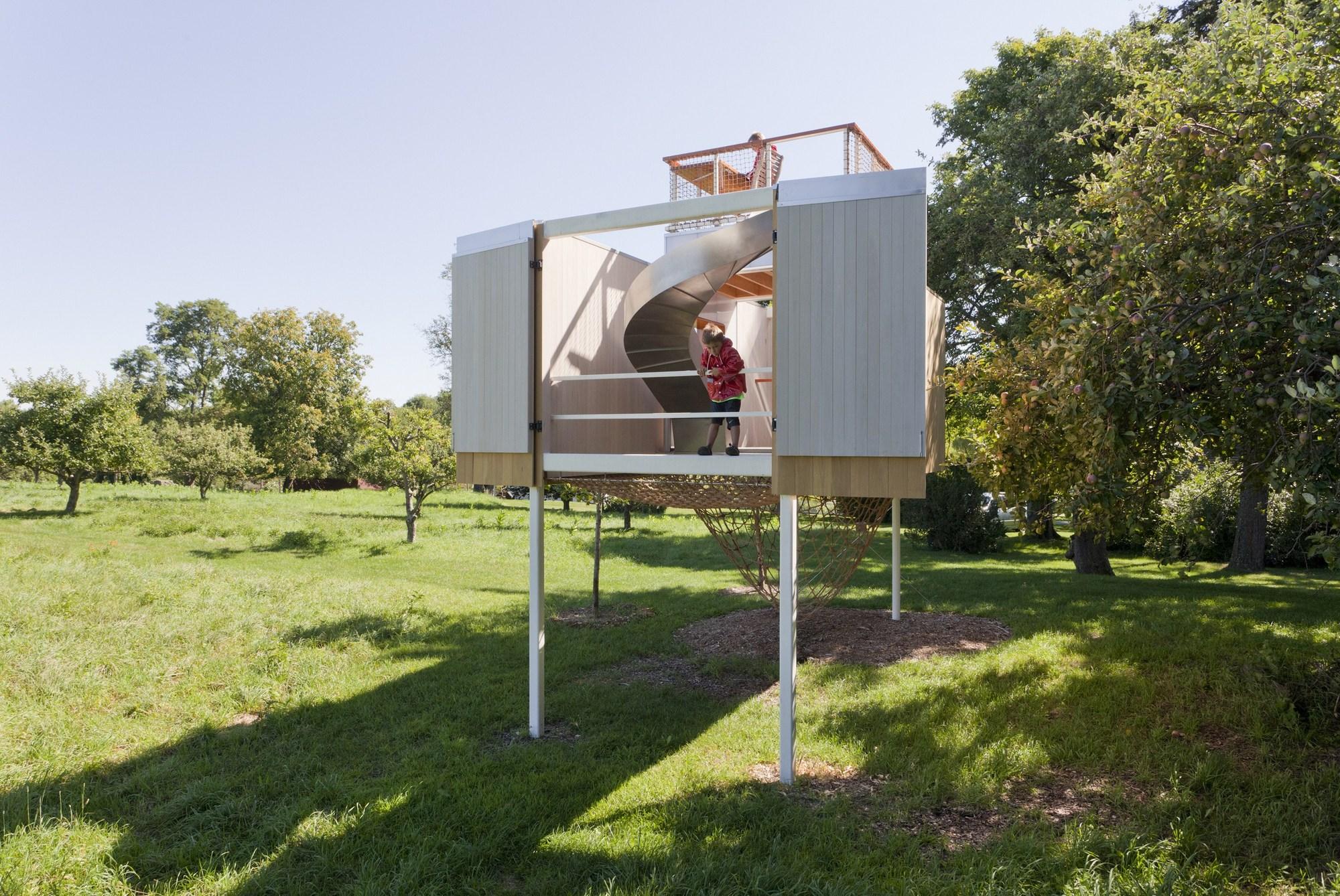 Casa del árbol Garrison / Sharon Davis Design