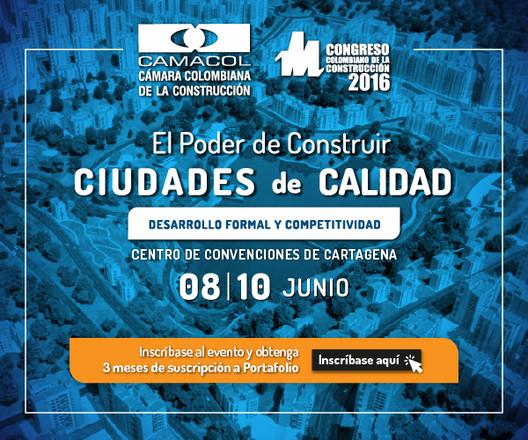 Camacol presenta la edición 2016 del Congreso Colombiano de la Construcción
