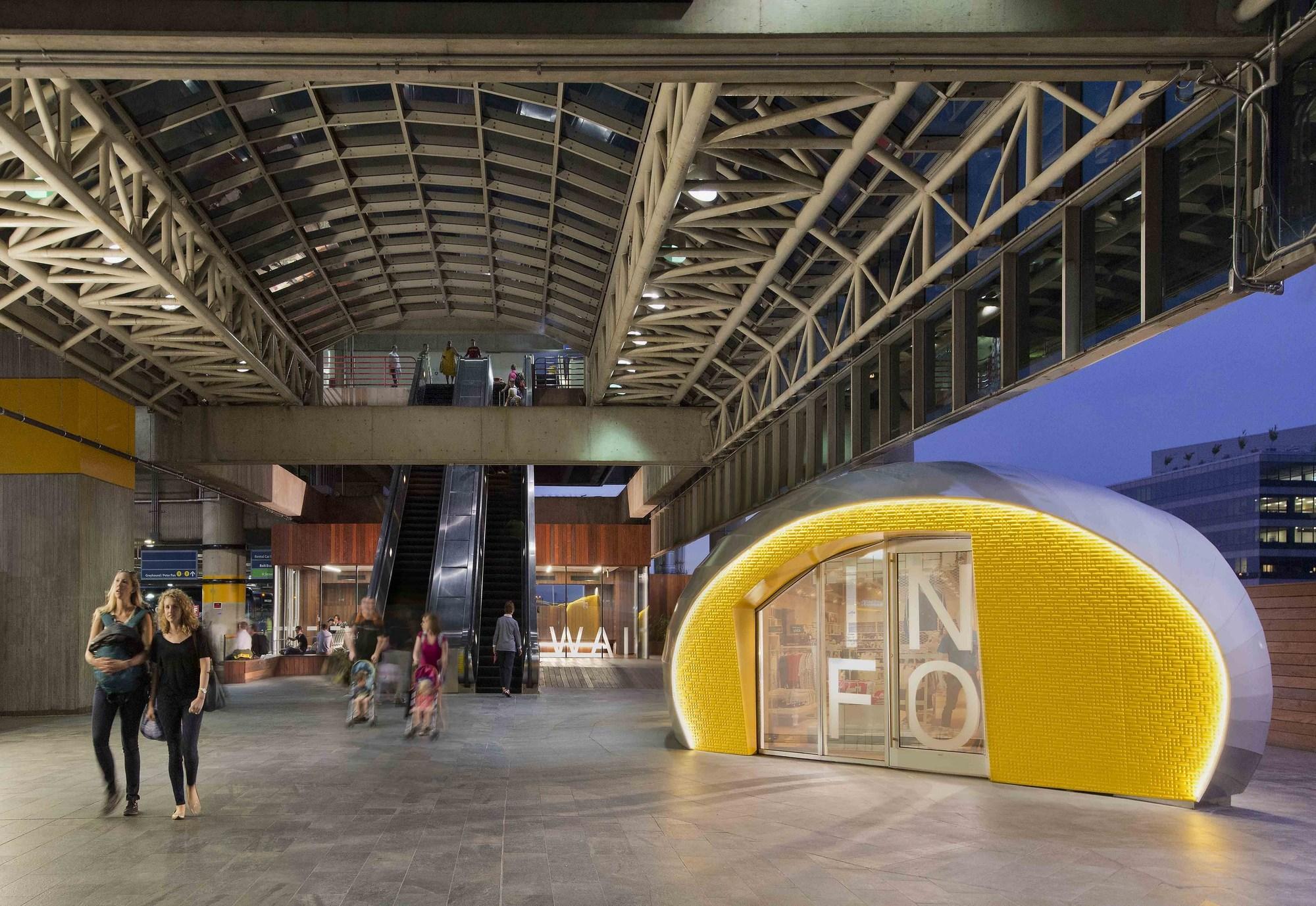 Union Station Bus Deck Pavilions / Studio Twenty Seven Architecture ...