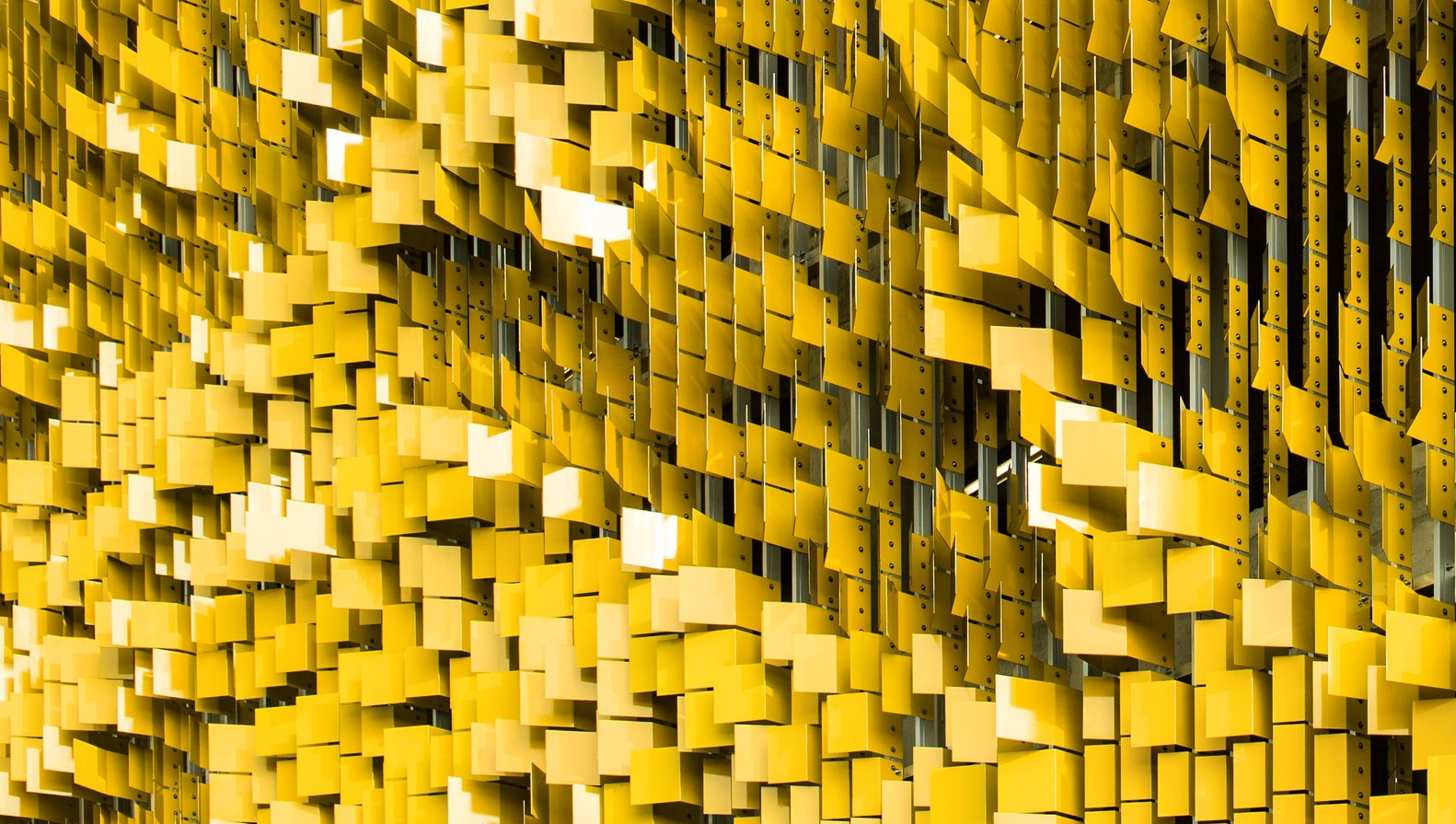 Gallery of Parking Structure Art Facade / Rob Ley Studio - 7