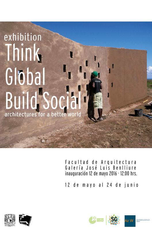 """Exposición """"Think Global, Build Social!"""" / Ciudad de México, Bauen für Orange Farm e.V. School Building in Mzamba."""