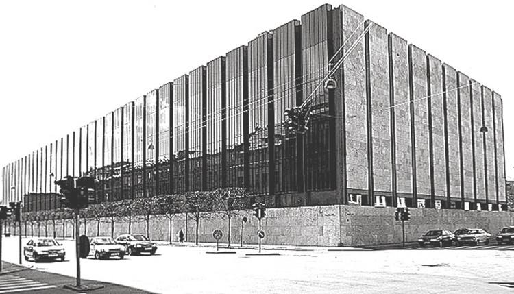Da inovação em Arquitectura. E dos seus diversos modos e formas / Alexandre Marques Pereira, Banco da Dinamarca, Copenhaga - Arne Jacobsen 1961-1978. Image © Alexandre Marques Pereira