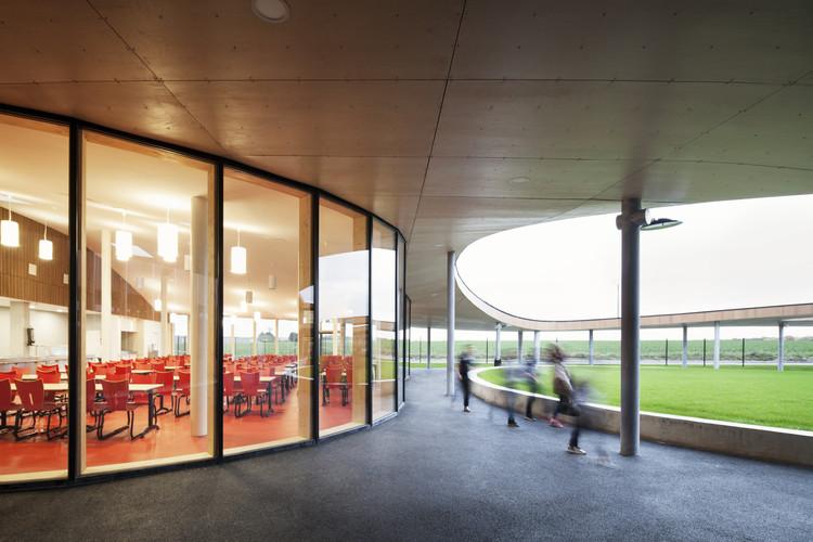 Froelicher High School Reconstruction  / Daudre-Vignier & Associes, © Charly Broyez