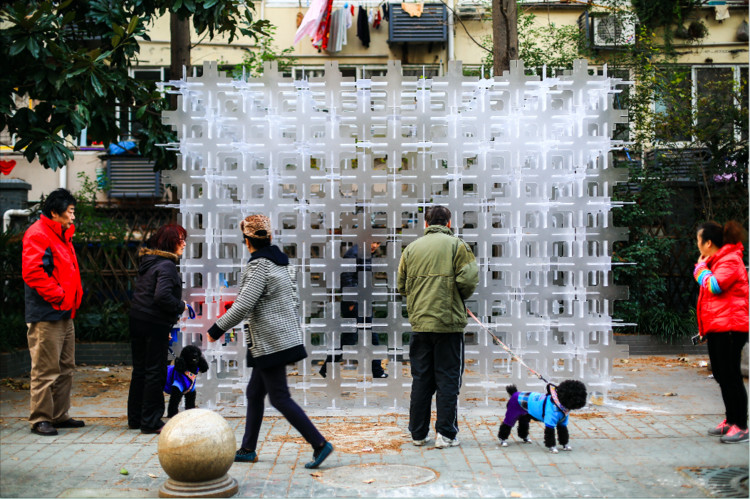 Temporary Permanence Installation / Arup Associates, © Lingxiao Zhang