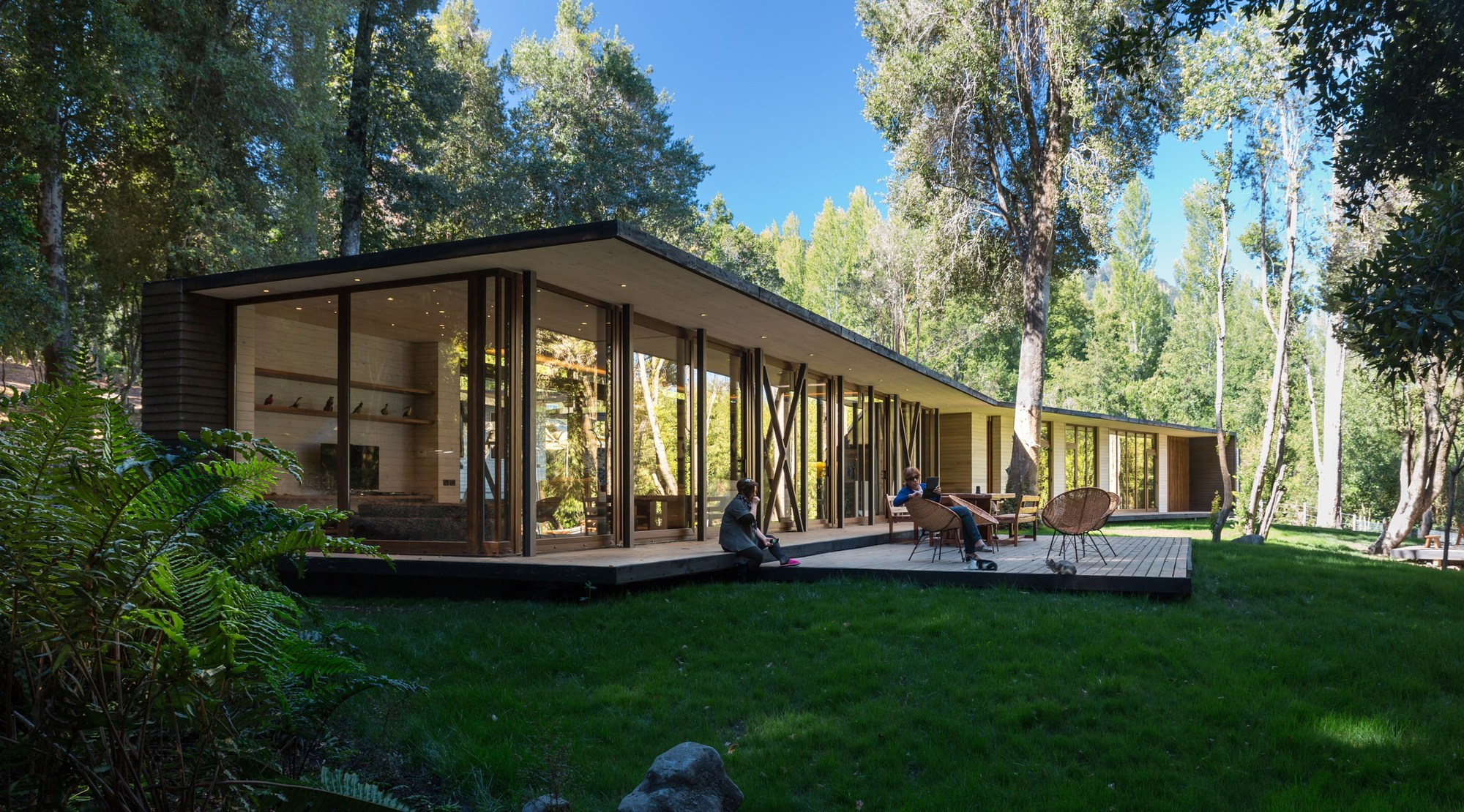 House in lake villarrica planmaestro archdaily - Casas contemporaneas ...