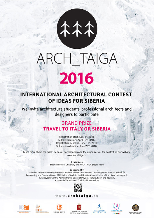 Open Call: ARCH_TAIGA Annual International Contest of Architectural Ideas for Siberia