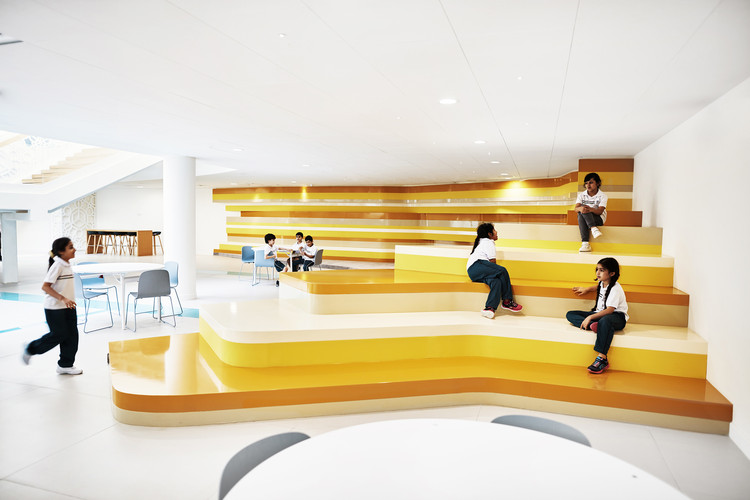 Academia Sheikh Zayed  / Rosan Bosch Studio , © Kim Wendt