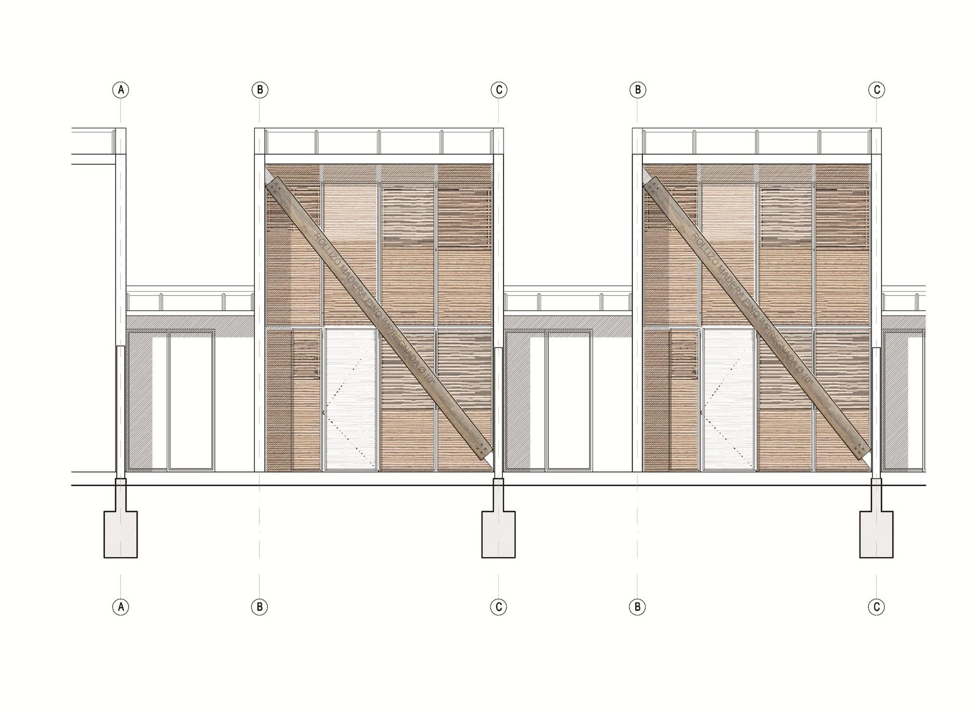 Galer a de viviendas ruca undurraga dev s arquitectos 19 for Frentes de viviendas