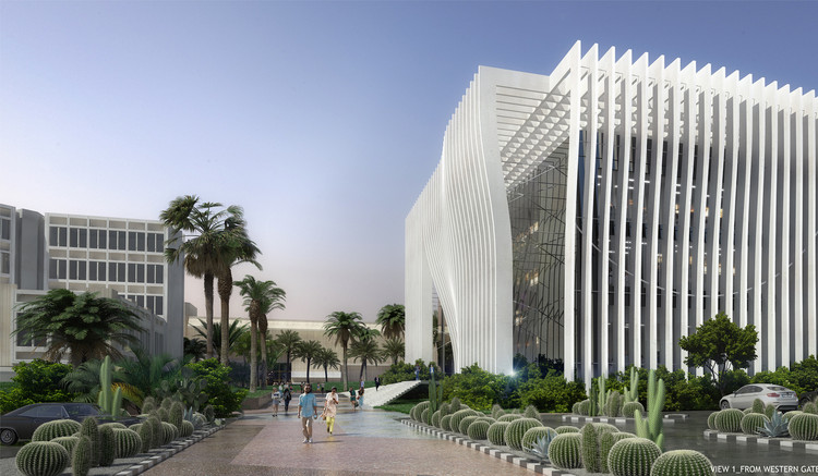 Atelier d'Architecture Michel Remon Wins Competition for Tel Aviv University Nanoscience and Nanotechnology Centre, Courtesy of Strelka KB