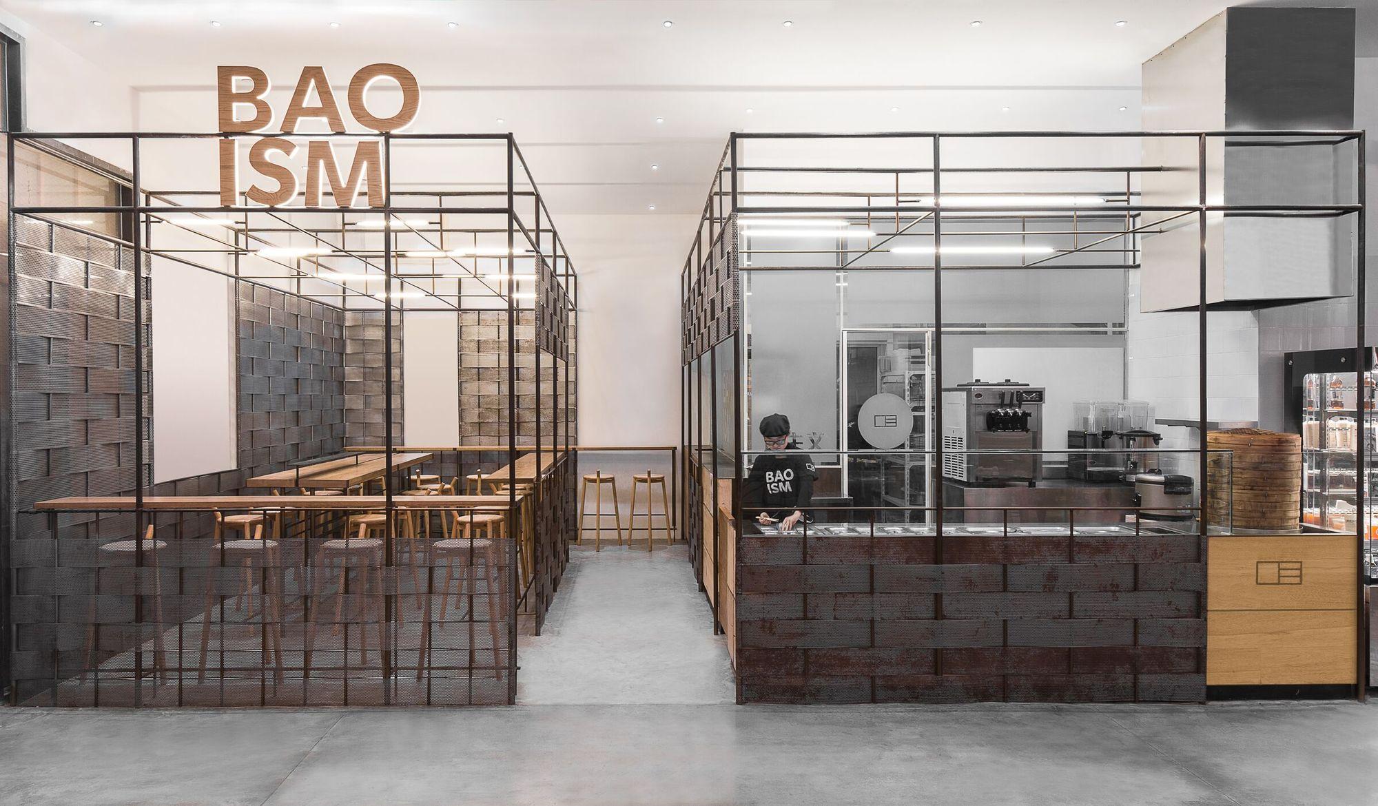 Restaurante Baoism Linehouse Plataforma Arquitectura