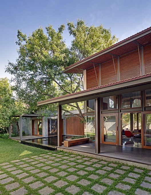 Krishnan House Khosla Associates Archdaily