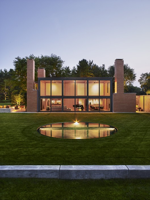 Louis Kahn's Korman Residence Interior Renovation  / Jennifer Post Design , © Pieter Estersohn