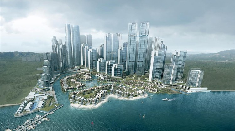 Aedas Designs Private Island Residences and Retreat for Malaysia, Courtesy of Aedas