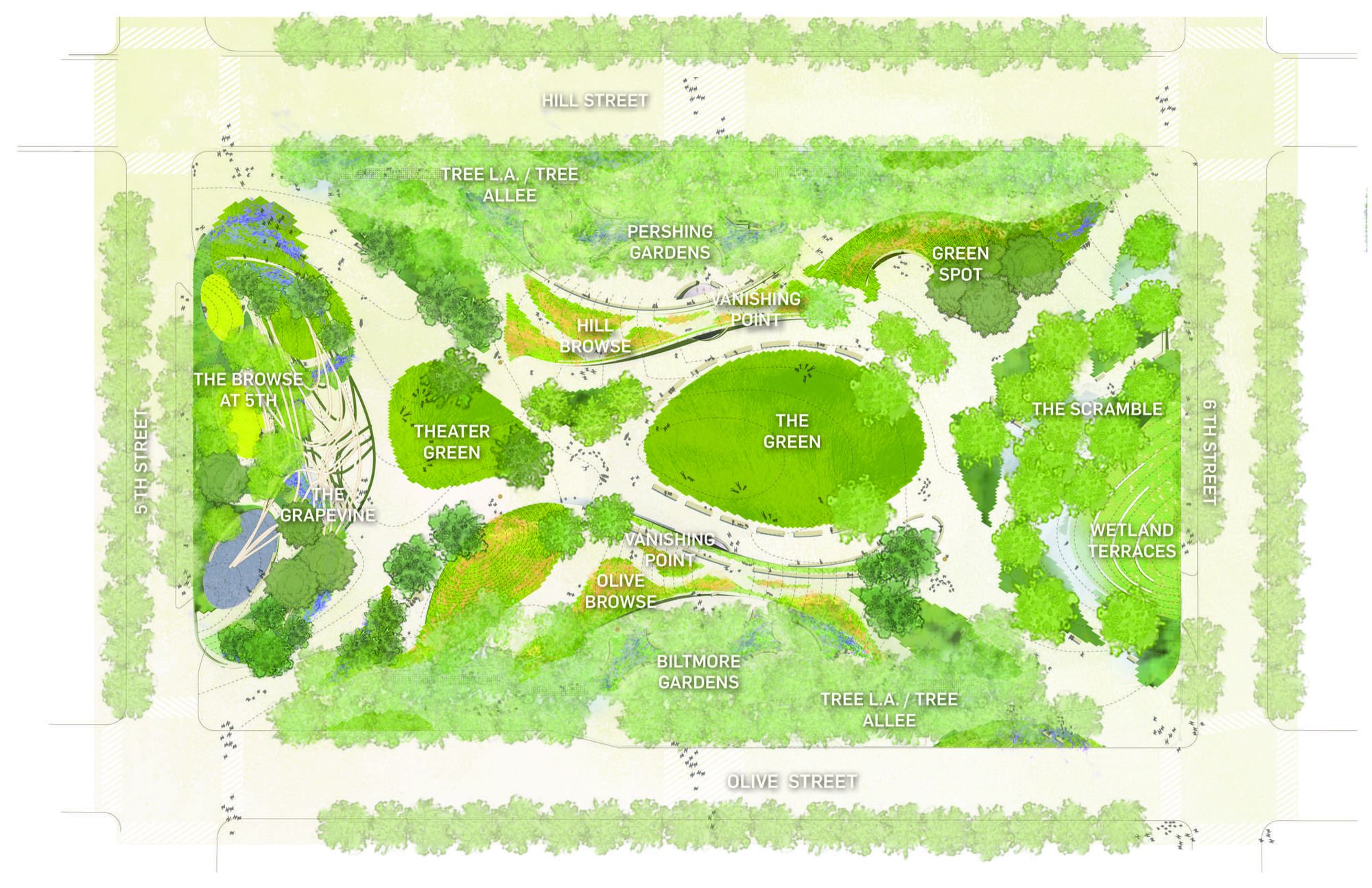 Gallery of pershing square renew unveils finalist designs for Garden design channel 4