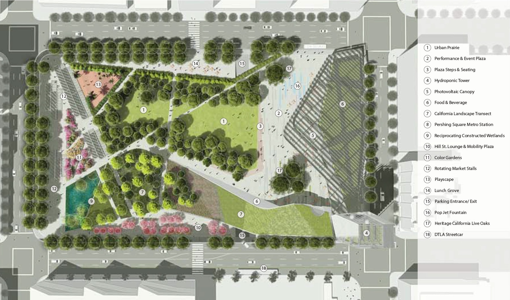 Gallery of pershing square renew unveils finalist designs for Square garden design