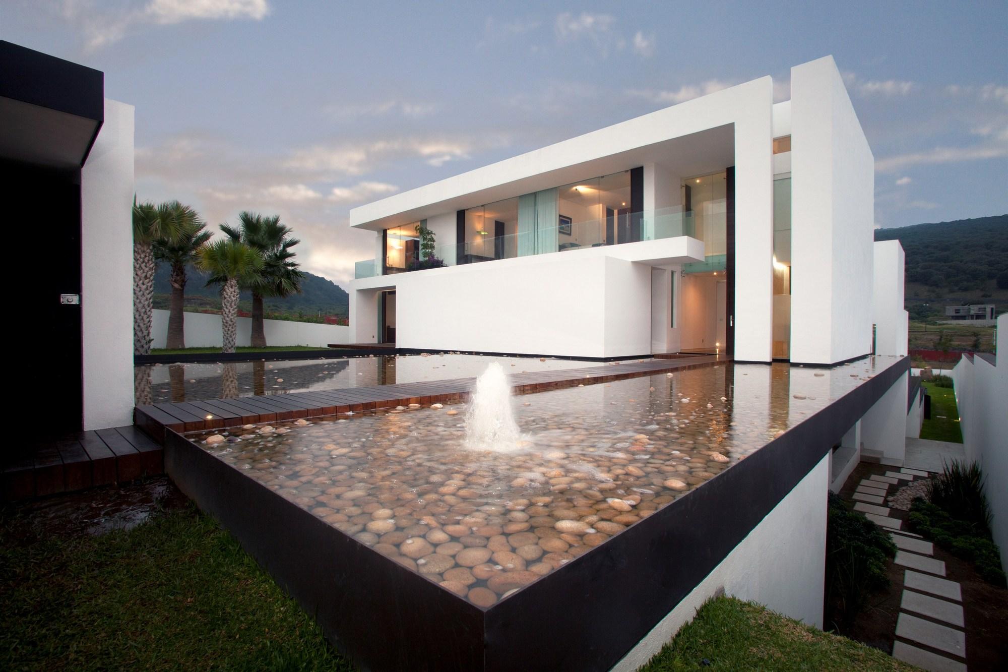 Casa del agua a a a almaz n arquitectos y asociados for Vivienda arquitectura