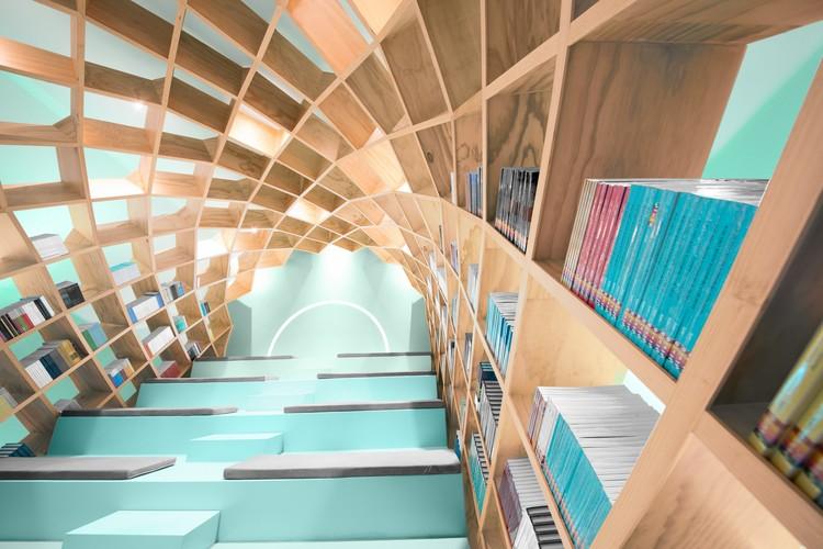 Conarte Bookstore / Anagrama, © Estudio Tampiquito