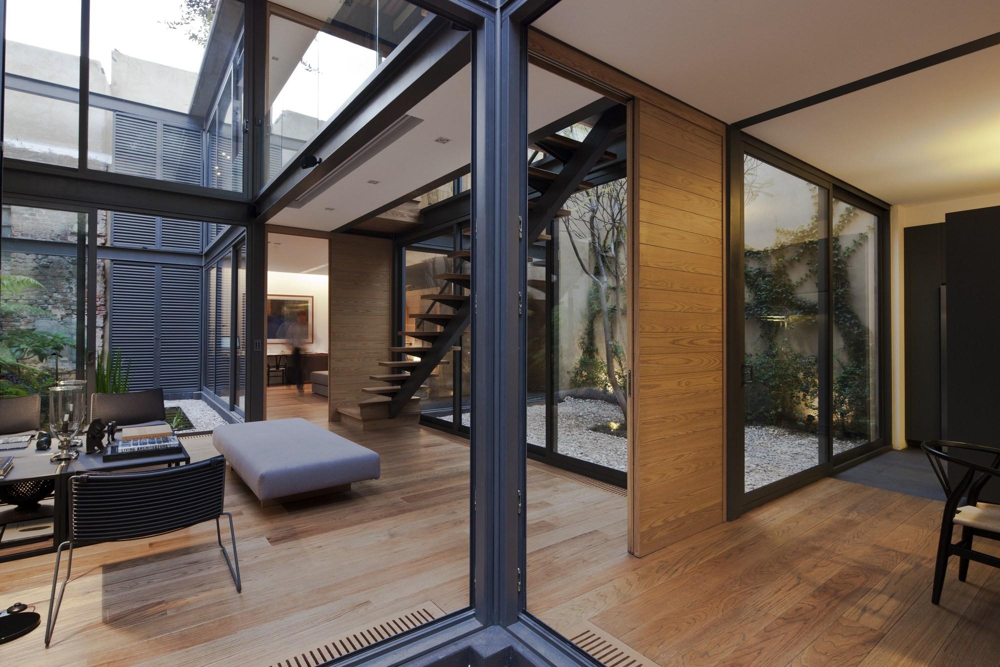 U Shaped Floor Plans With Courtyard Galer 237 A De Casa De Los Cuatro Patios Andr 233 S Stebelski