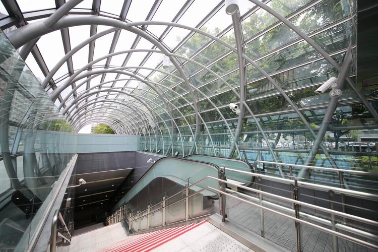 Estación de metro Dingpu / J.J. Pan & Partners , © Chien-Yuan Liang