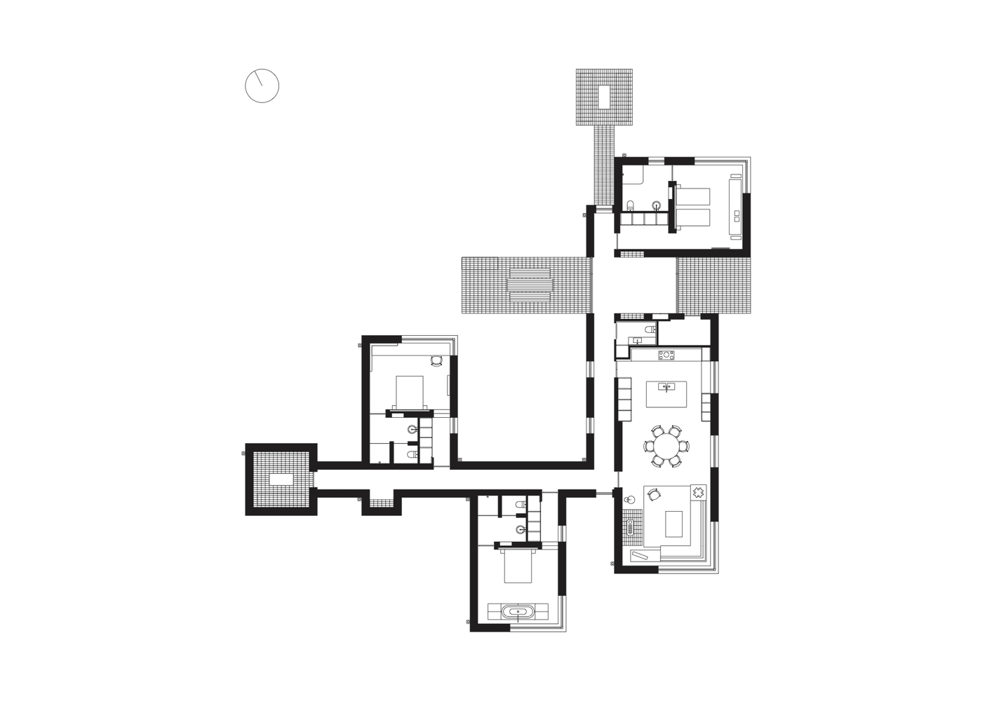 Gallery of life house john pawson 21 life housefloor plan pooptronica Gallery