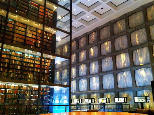 Beinecke Rare Book Library. Image © <a href='https://www.flickr.com/photos/joevare/5524134719'>Flickr user joevare</a></noindex></noindex> licensed under <noindex><noindex><a target=